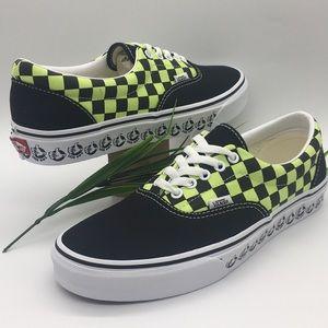 Vans Era ((Vans Bmx)Blk/Sharp Green Checkerboa men